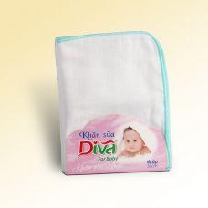 Khăn sữa, khăn gạc cho bé thương hiệu Diva vải Nhật 4 lớp size 30X38cm-KS4L38