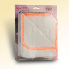 Khăn sữa, khăn gạc cho bé thương hiệu Diva 3 lớp vải Nhật 25X30cm-KSH3L
