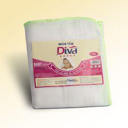 Khăn tắm, khăn xô thấm hút tốt cho bé và cho người lớn thương hiệu Diva 4 lớp 78x80cm-KT80