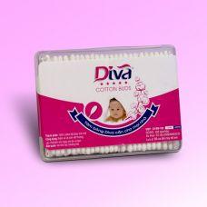 Tăm bông vệ sinh tai dành cho bé thương hiệu Diva 160 (nhựa)- Vietnam-DVN160B